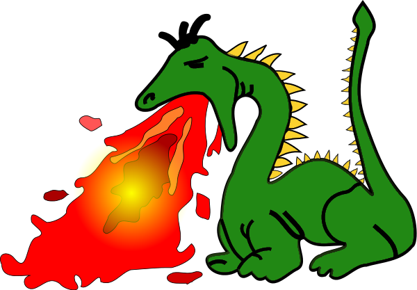 Breathing clipart visible. Dragon breath