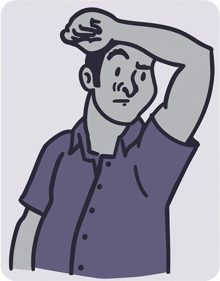 Smelling sickness nih news. Deodorant clipart body odor