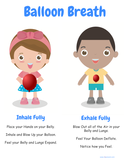By cheryl brause infographic. Breath clipart balloon