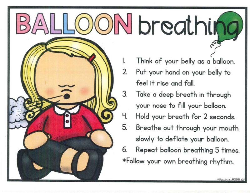 Early childhood collaborative hosts. Breath clipart balloon