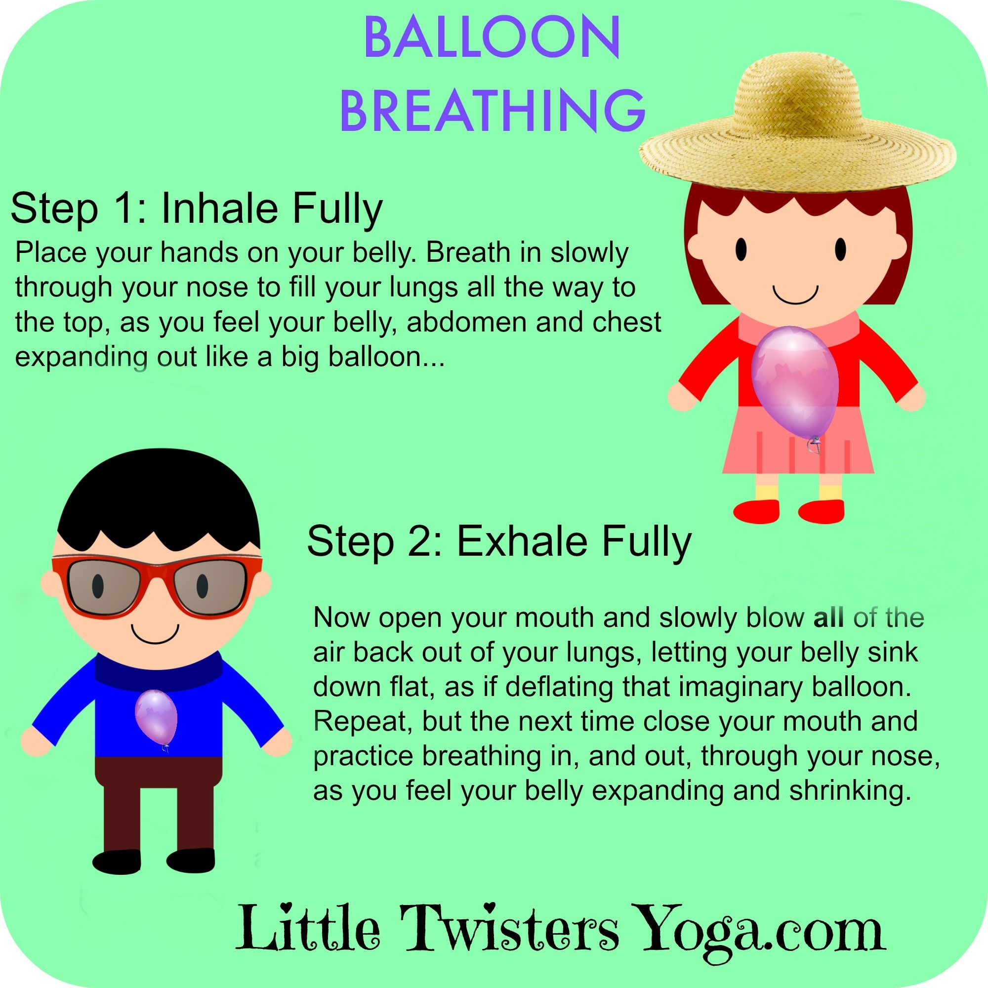 Breath clipart balloon. Great visual for teaching