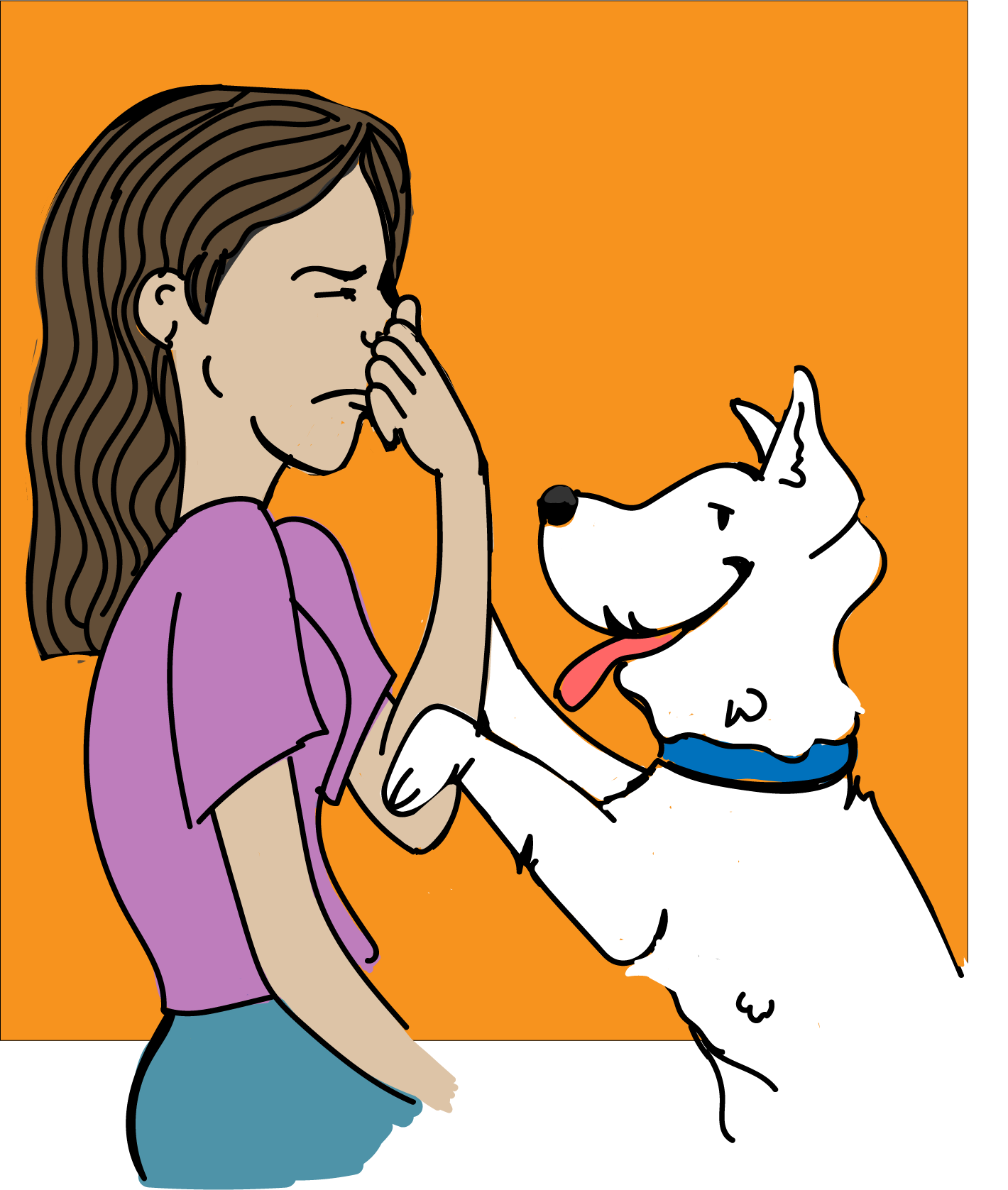 Breath clipart big. Dog bad the best