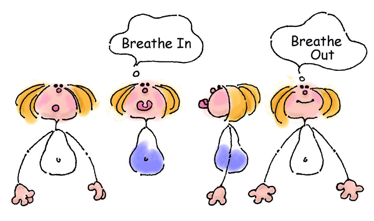 Manage stress in the. Calm clipart calm breathing