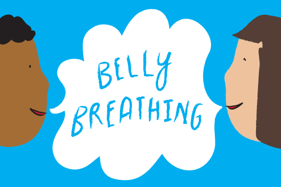 Calming exercise for kids. Breath clipart child breathing