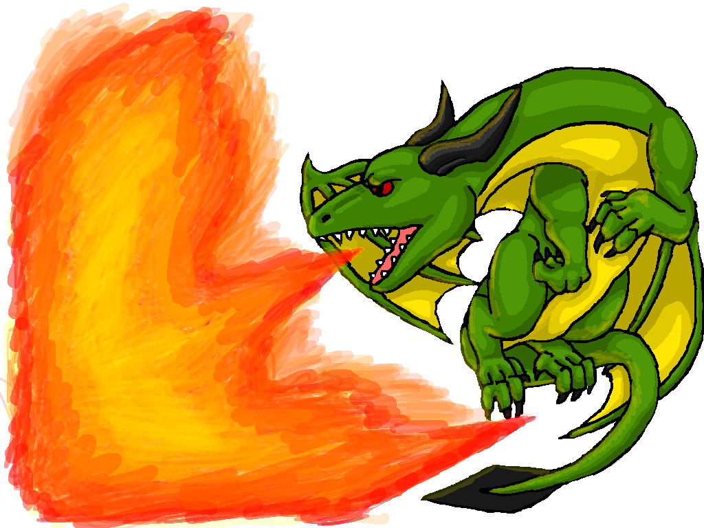 Free picture of a. Breath clipart fire