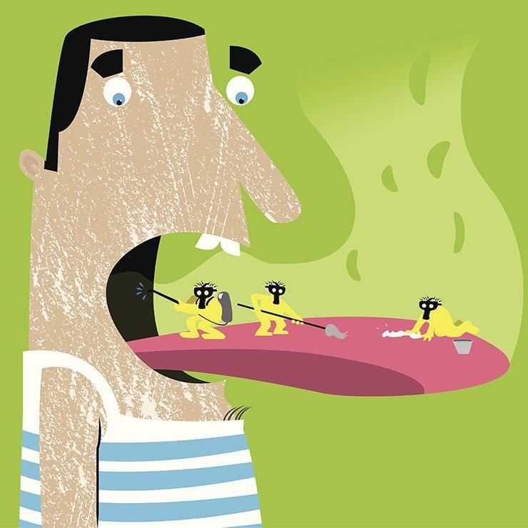 Bad indicates health webdental. Breath clipart fresh breath