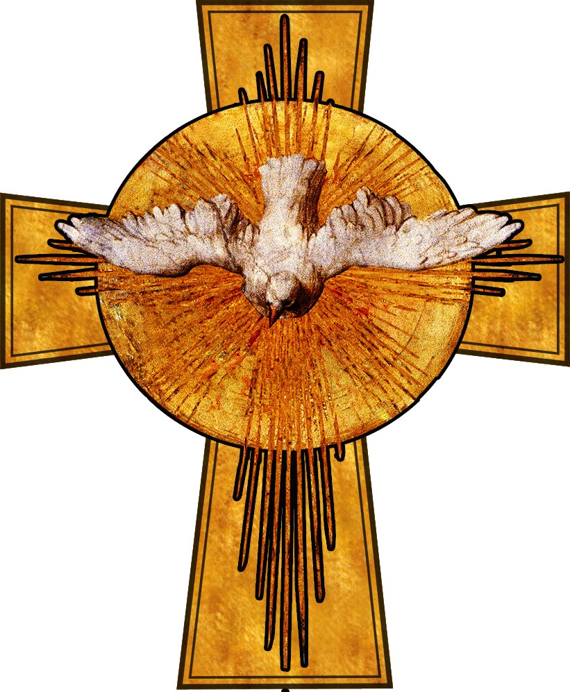 And bowing his head. Breath clipart holy spirit