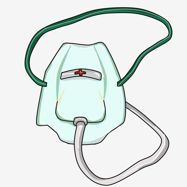 Oxygen principle . Breathing clipart inhalation