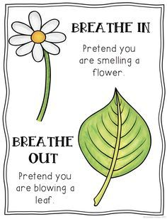 Breathing clipart mindful breathing. Mindfulness posters free and