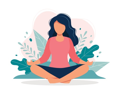 Breath clipart mindful breathing. A minute practice to