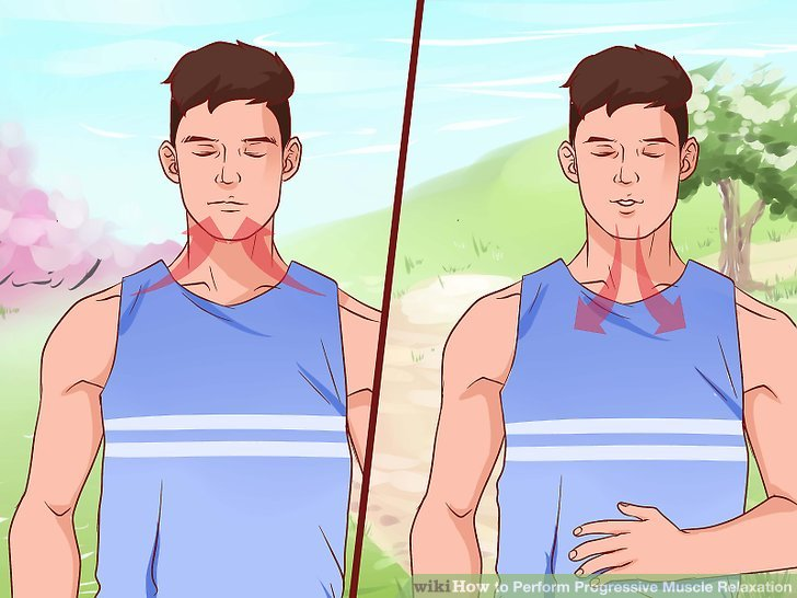 Breath clipart muscle relaxation.  ways to perform
