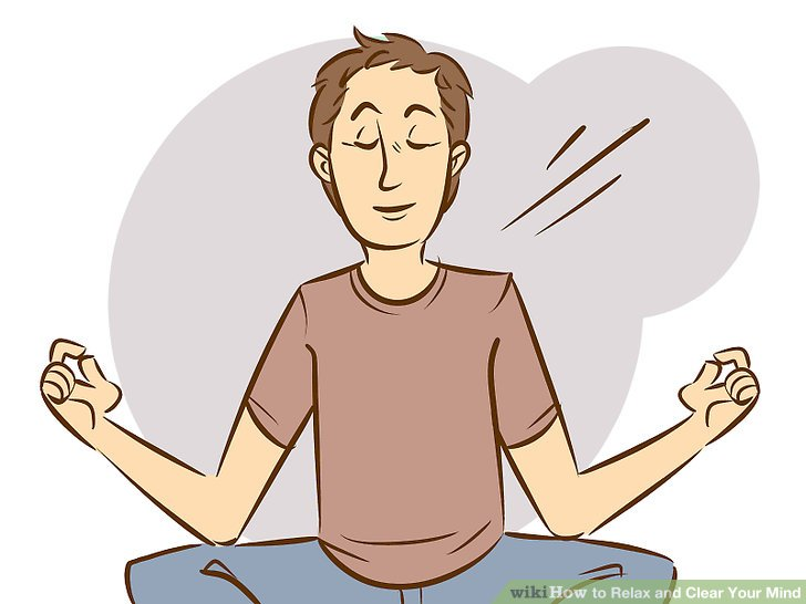 ways to relax. Breath clipart muscle relaxation