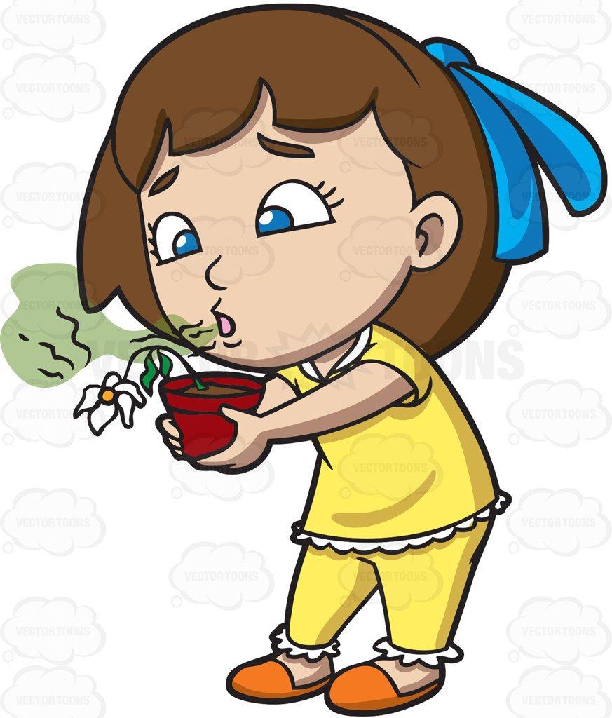 Breath clipart smelly breath. Cartoon a girl kills