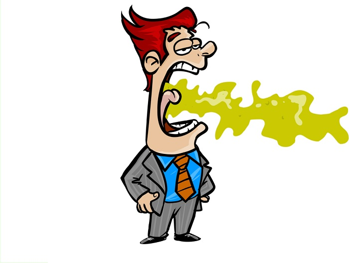 Top celebrities with bad. Breath clipart unpleasant