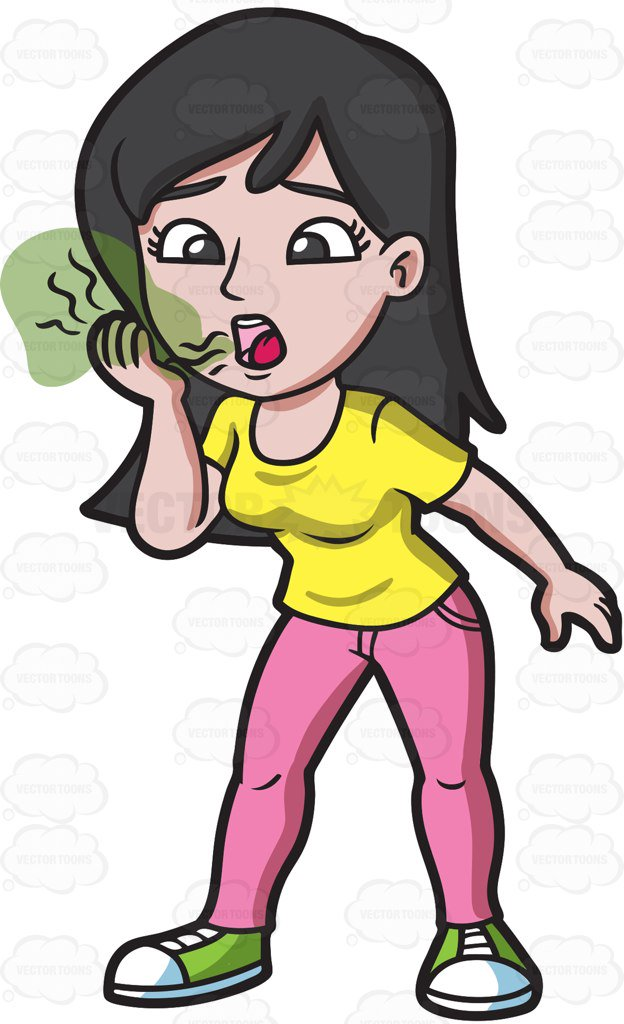 Breath clipart woman. A experiencing fatigue while