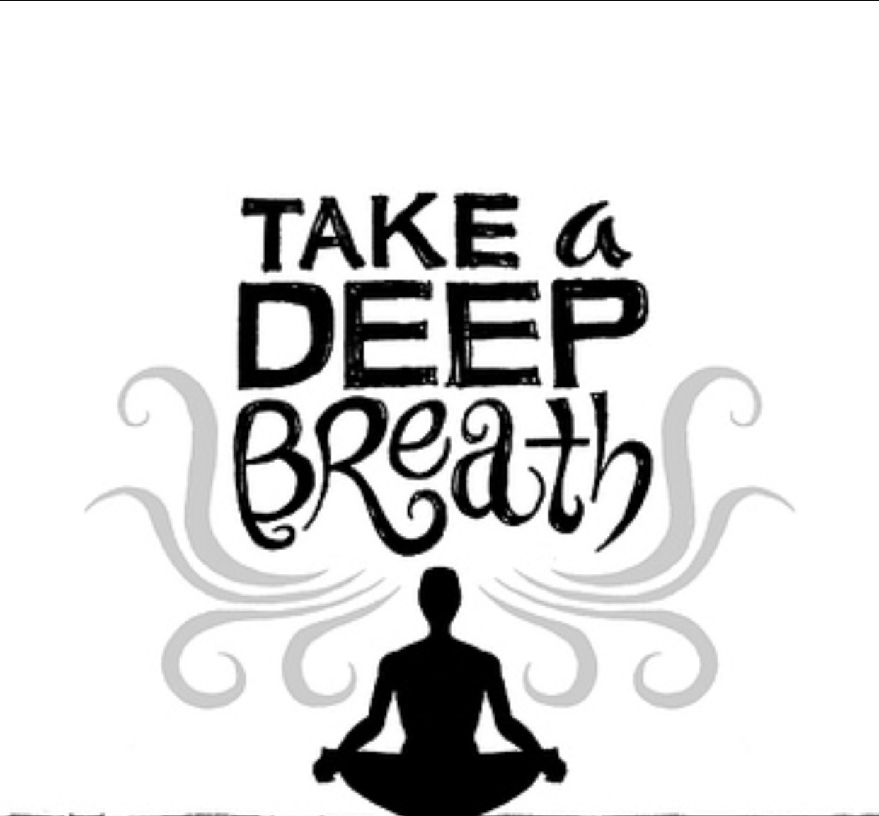 Breath clipart yoga breathing. How deep calms your