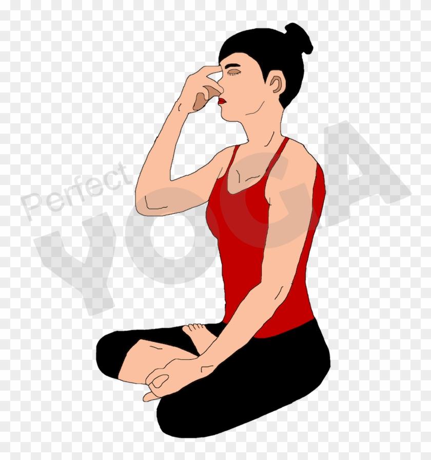 Breath clipart yoga breathing. Breathe sitting hd png