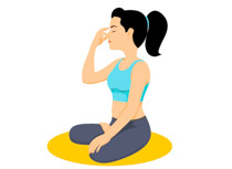 Breath clipart yoga breathing. Search results for clip