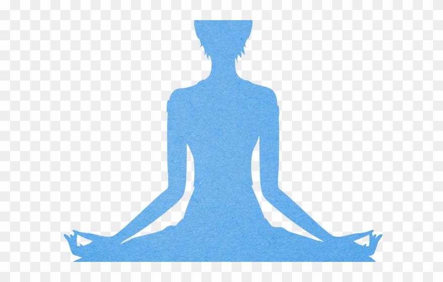 Yoga breathing silueta de. Breathe clipart meditation