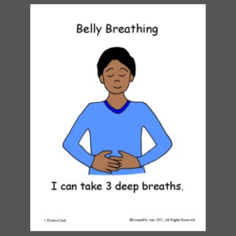 Breathe clipart belly breathing. Lessonpix shared materials matching