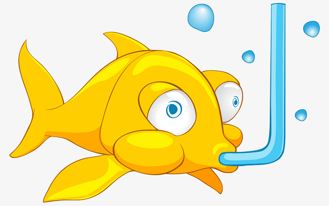 Small fish that in. Breathe clipart cartoon