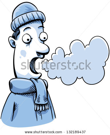 Breathing clipart cold air. Chill pencil and in