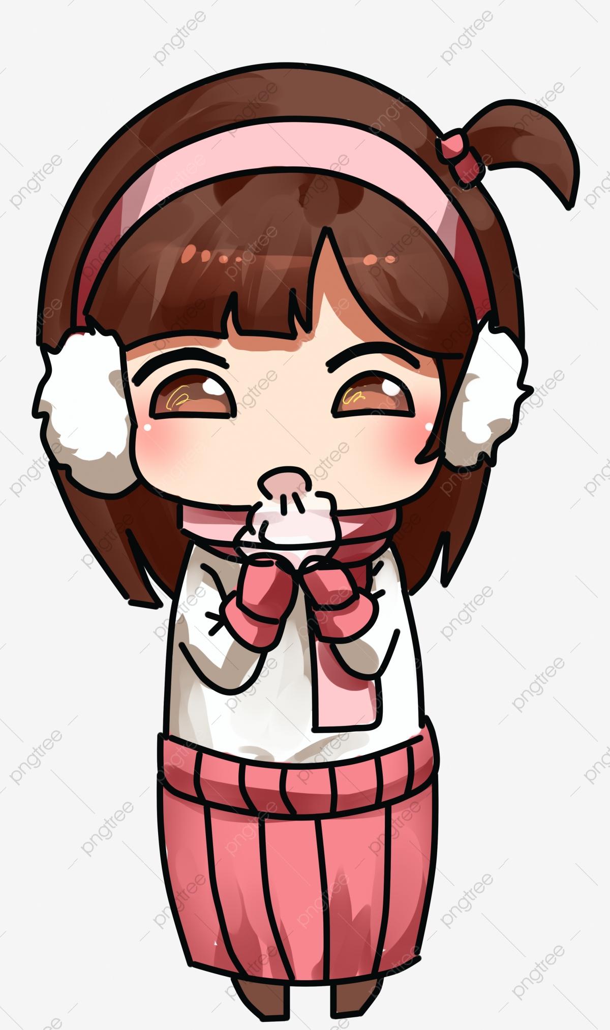 Winter keep warm cotton. Breathe clipart cold breath