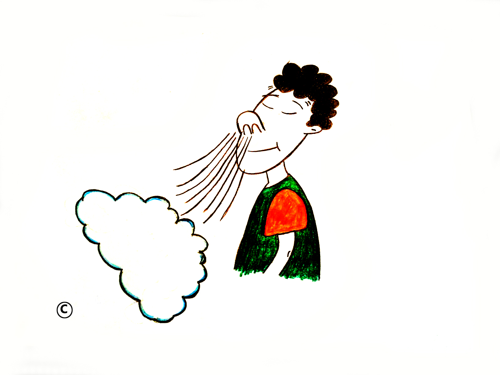 collection of kid. Breath clipart human breathing