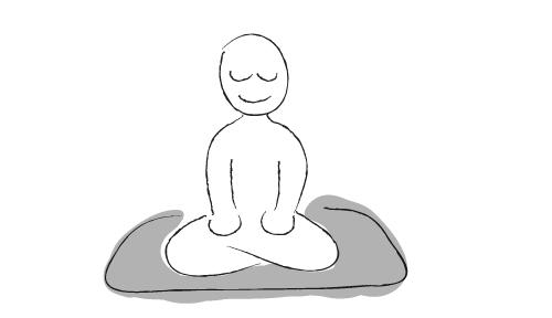 Mindfulness of breathing matthew. Breathe clipart meditation