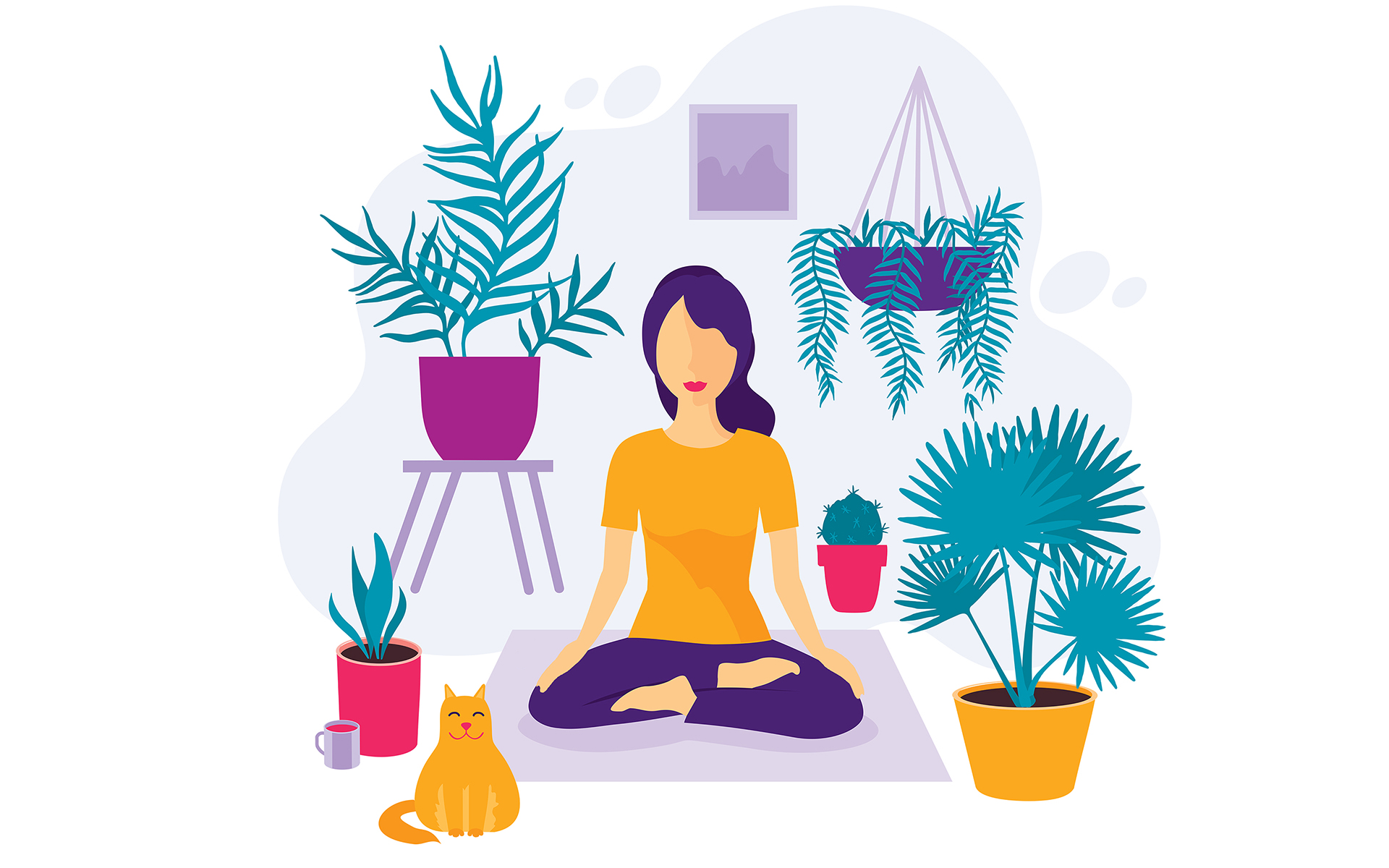 How to meditate mindful. Breathe clipart meditation