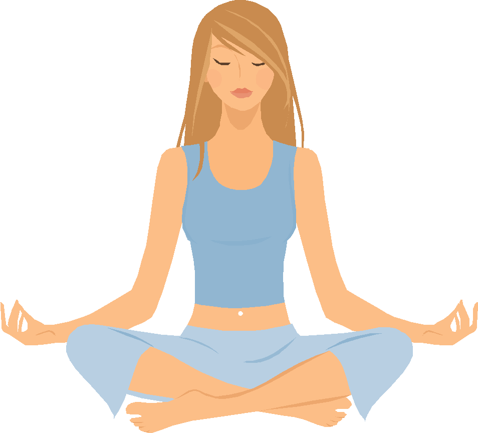 Exercising clipart yoga. Free png transparent images
