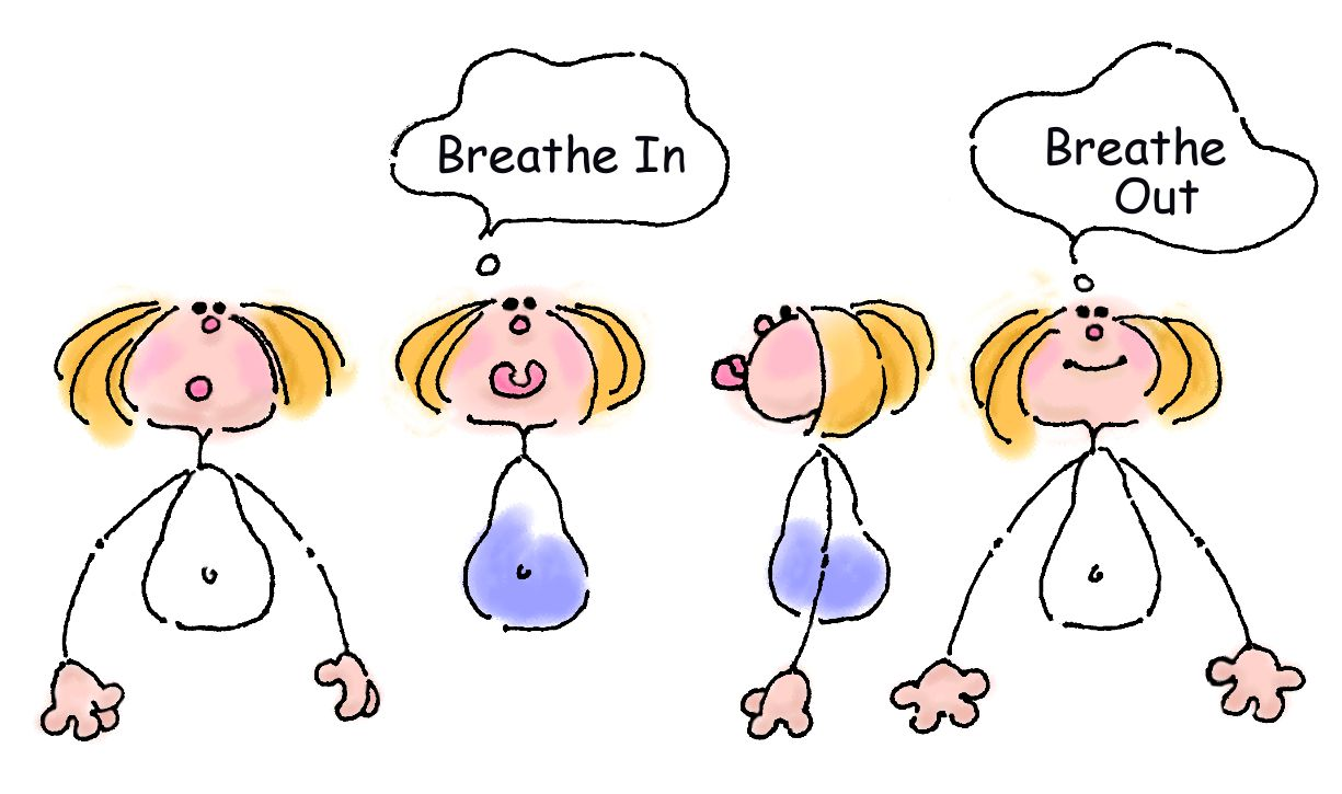 Breathing clipart child breathing. Station
