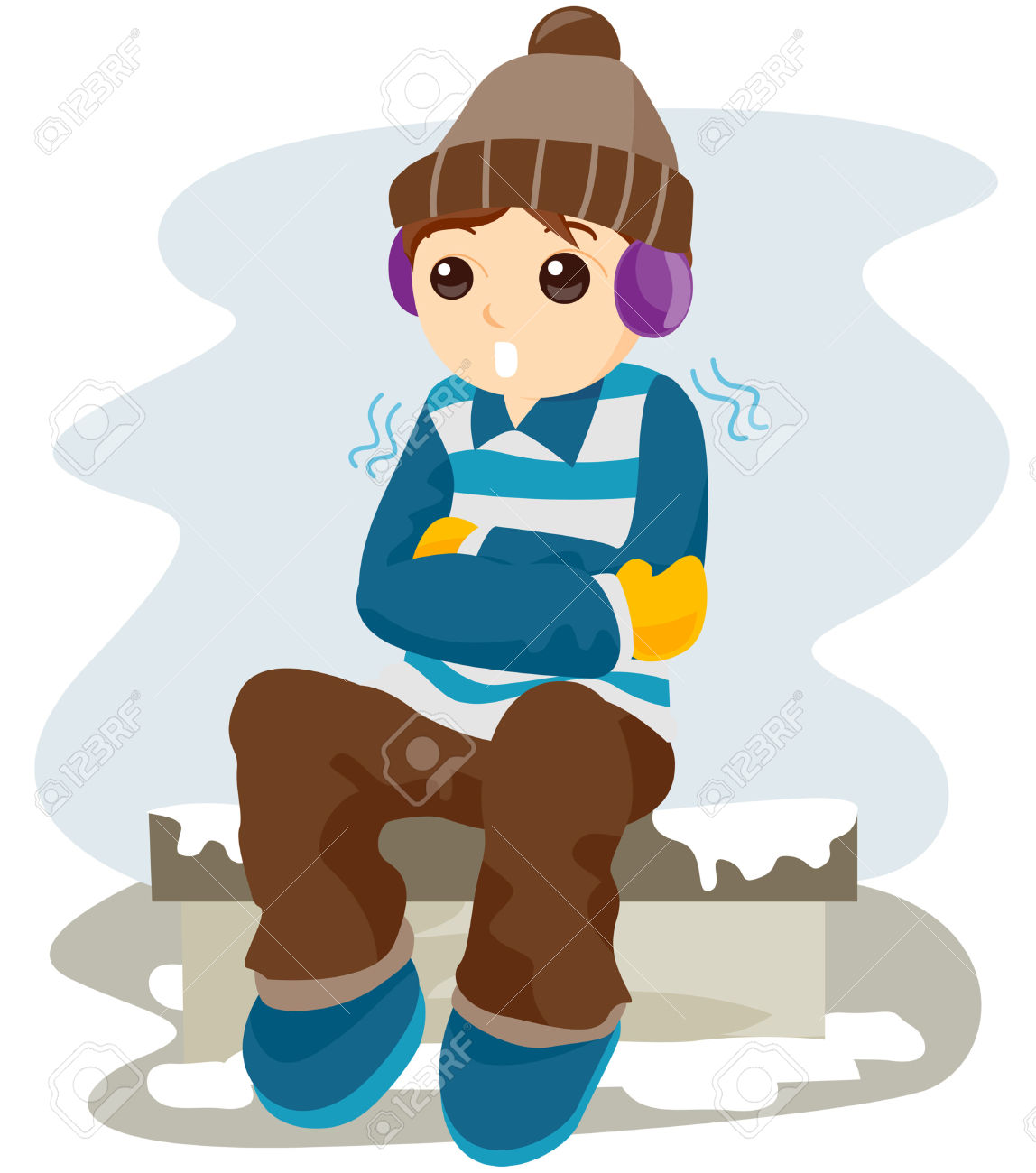 collection of cold. Breathing clipart frosty weather