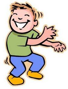 Kids clip art free. Dancing clipart dancing boy