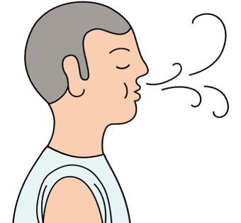 Breath clipart boy.  collection of breathing