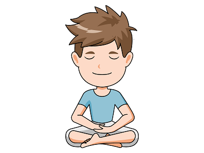 Calm clipart calm boy.  collection of breathing