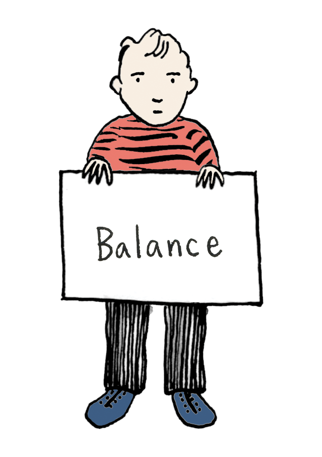 Listen sing mindfulness for. Exercise clipart balance exercise