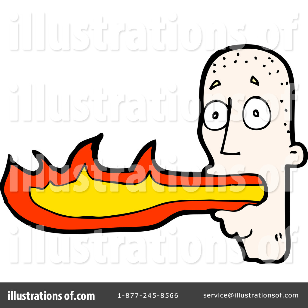 Breathing clipart mouth. Fire illustration by lineartestpilot