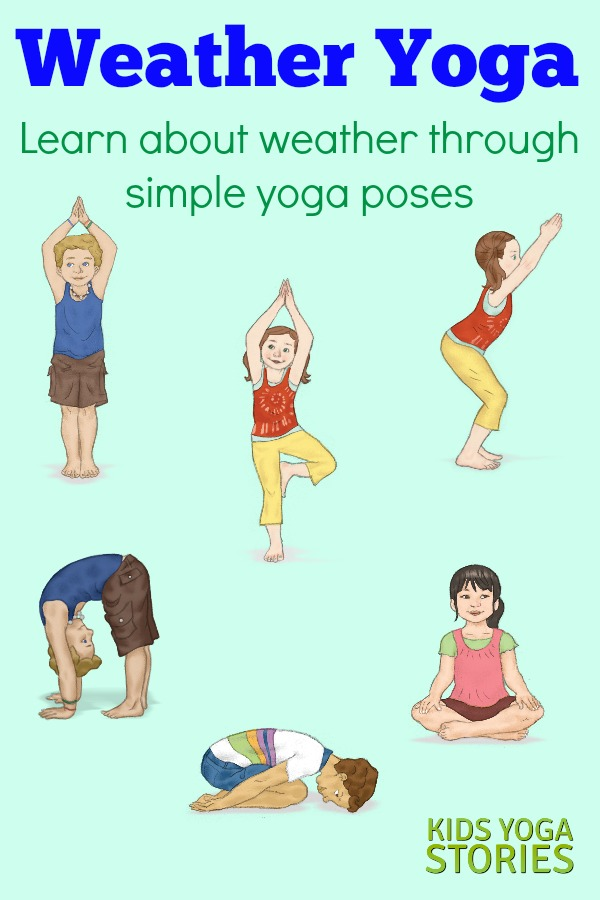 Breathing clipart yoga class. Weather activities for kids