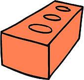 Brick clipart. Graphic panda free images