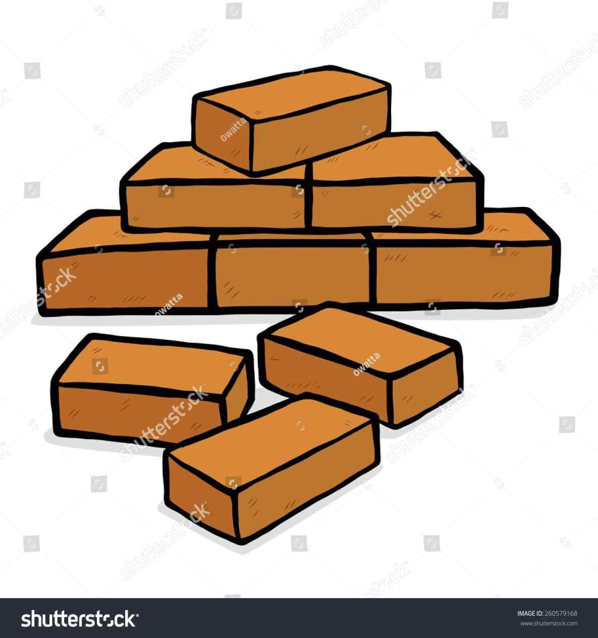 More about pile of. Brick clipart