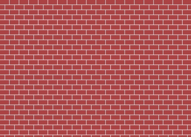 Red wall free stock. Brick clipart