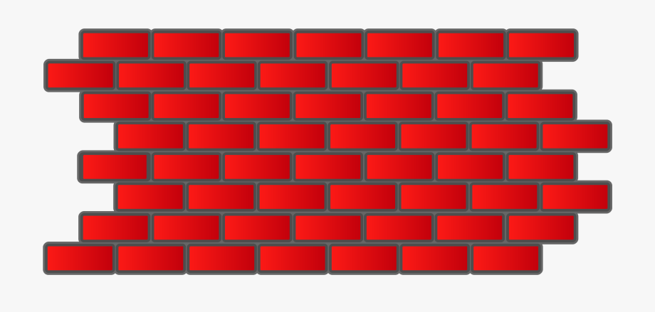 Brick clipart. Red wall free cliparts