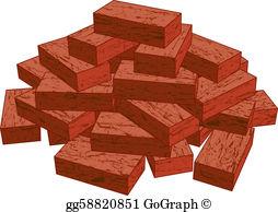 Brick clipart. Bricks clip art royalty
