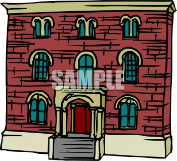 Building . Brick clipart animated
