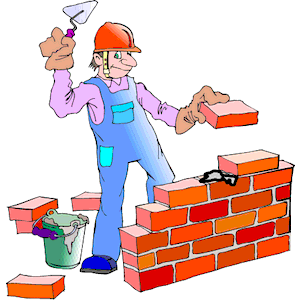 Free bricklaying cliparts download. Brick clipart animated