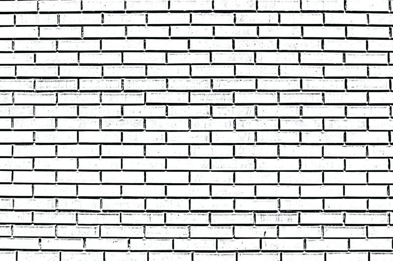 Bricks brickwork wall stock. Brick clipart black and white