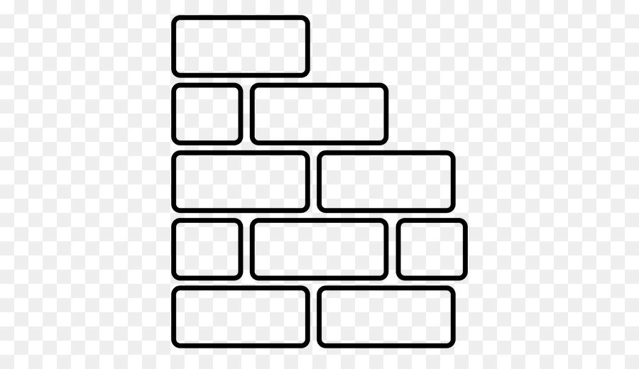 Rectangle square clip art. Brick clipart black and white