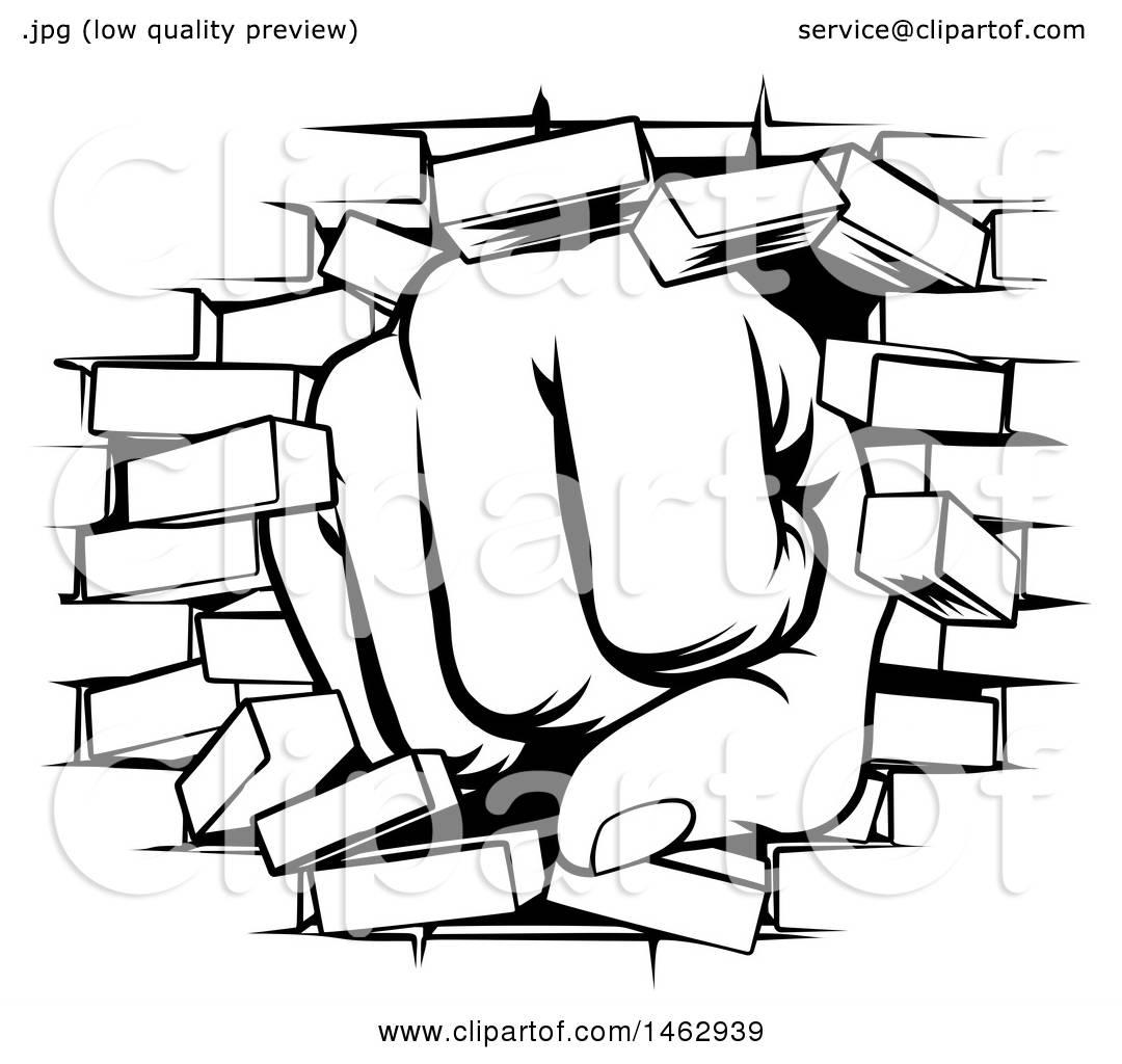 Brick clipart black and white. Bricks drawing at getdrawings