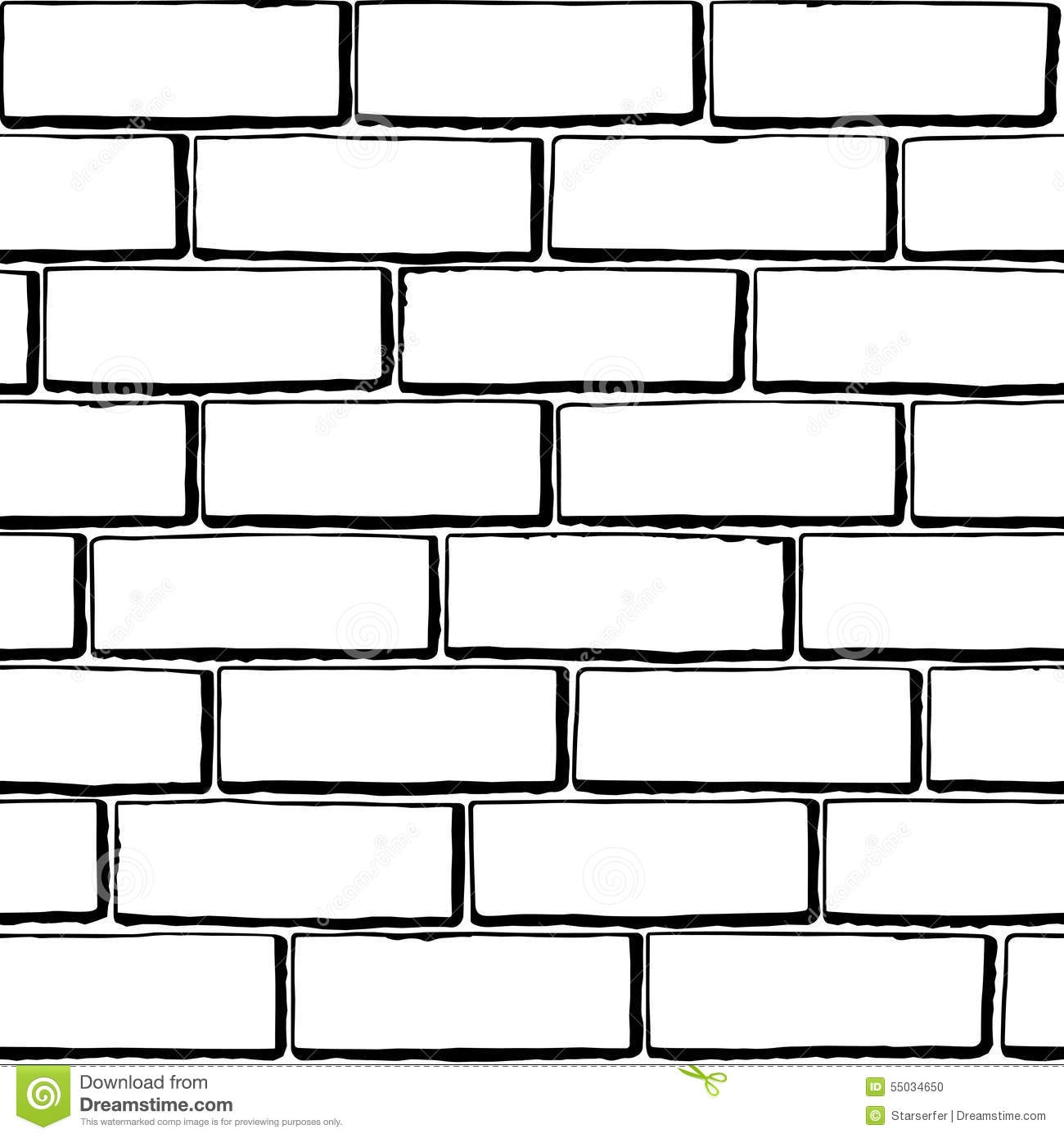 Brick clipart black and white.  collection of wall